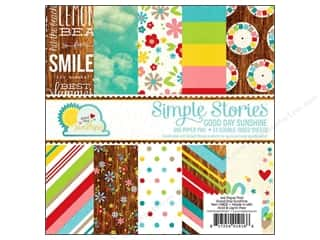 Simple Stories Paper Pad Good Day Sun 6x6