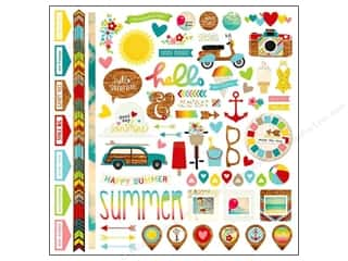 Simple Stories Borders: Simple Stories Sticker Good Day Sunshine Fundamentals