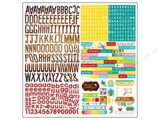 Simple Stories Alphabet Stickers: Simple Stories Sticker Good Day Sunshine Expressions