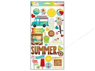 Summer Chipboard: Simple Stories Sticker Good Day Sunshine Chipboard