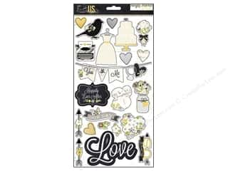 Simple Stories Stickers: Simple Stories Sticker The Story Of Us Chipboard