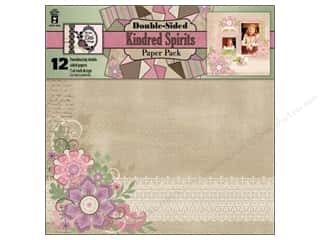 "Hot off the Press Clearance Crafts: Hot Off The Press Paper Pack 12""x 12"" Kindred Spirits"