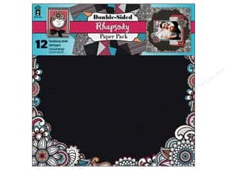 Weekly Specials Paper Packs: Hot Off The Press Paper Pack 12x12 Rhapsody
