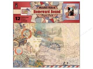 "Hot off the Press Black: Hot Off The Press Paper Pack 12""x 12"" Homeward Bound"