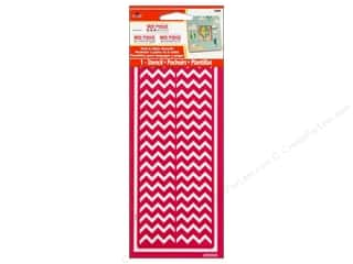 Plaid Mod Podge Stencil Peel & Stick Chevron