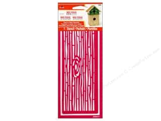 Plaid Mod Podge Stencil Peel & Stick Wood Grain