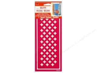 Plaid Mod Podge Stencil Peel & Stick Starlite
