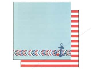 Simple Stories Paper 12x12 Shining Sea Ahoy (25 piece)