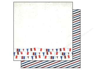 Simple Stories Paper 12x12 Shining Sea Sail Away (25 piece)