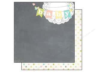 Simple Stories Paper 12x12 Hello Baby (25 piece)