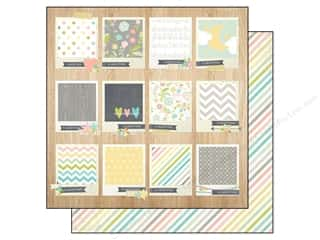 Simple Stories Paper 12x12 Hello Baby Tiny Details (25 piece)