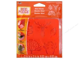 Plaid Mod Podge Mold Mystical Forest