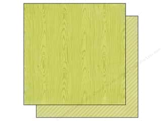 Simple Stories Paper 12x12 Hello Baby Green Wood (25 piece)