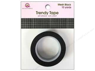 Queen&Co Trendy Tape 10yd Mesh Black