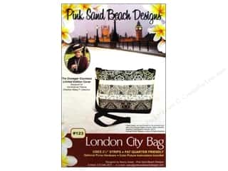 Abbey Lane Fat Quarters Patterns: Pink Sand Beach Designs Downton Abbey London City Bag Pattern
