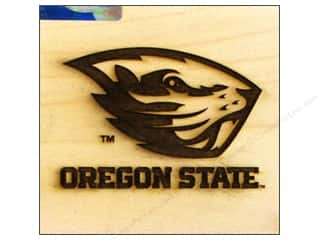 ColorBox Stamp Rubber Wood Mount Oregon State