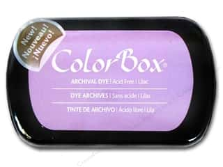 ColorBox Paints: ColorBox Archival Dye Inkpad Full Size Lilac
