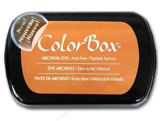ColorBox Paints: ColorBox Archival Dye Inkpad Full Size Toasted Apricot