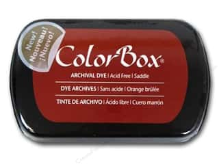 ColorBox Paints: ColorBox Archival Dye Inkpad Full Size Saddle