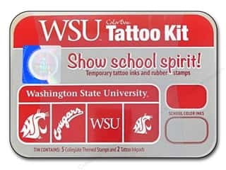 Holiday Sale: ColorBox Tattoo Ink Kit Washington StateUniversity