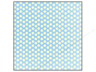Papers Blue: Canvas Corp 12 x 12 in. Paper Blue & Ivory Dot Reverse (15 pieces)