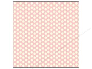 Canvas Corp 12 x 12 in. Paper Pink & Ivory Dot Reverse (15 piece)