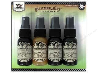 Glitter Brown: Tattered Angels Glimmer Mist Color Kit 4 pc. Natural Basics