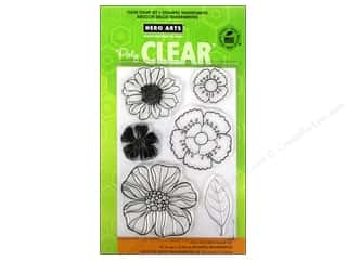 Flowers / Blossoms Clear: Hero Arts Poly Clear Stamp Blossom Art