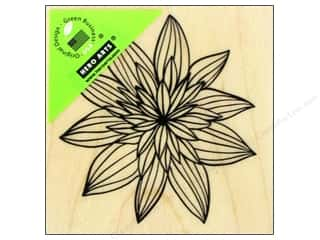 Rubber Stamps: Hero Arts Rubber Stamp Night Flower