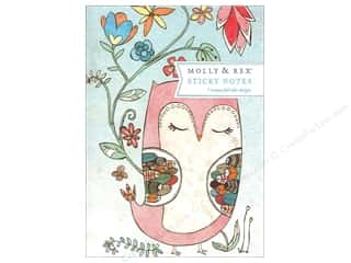 Molly & Rex Note Sticky Padfolio Sweet Owl
