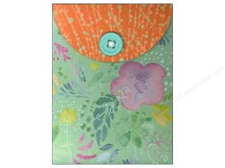 Molly & Rex Note Button Pocket Pad Turquoise Gardn (2 piece)