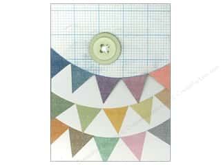 Molly & Rex Note Button Pocket Pad Pennants (2 piece)
