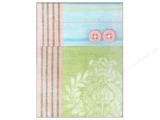 Molly & Rex Note Button Pocket Pad Pink & Lime (2 piece)