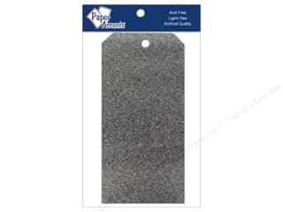 Scrapbooking Sale: Craft Tags 3 1/8 x 6 1/4 in. 10 pc. Glitz Midnight
