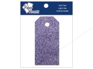 Brand-tastic Sale 3L: Craft Tags 7/8 x 1 3/4 in. 10pc Glitz Violet