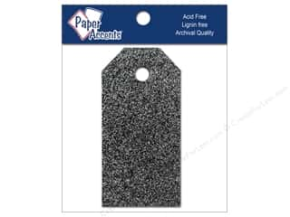 Brand-tastic Sale 3L: Craft Tags 7/8 x 1 3/4 in. 10pc Glitz Midnight