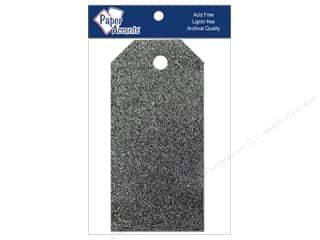 Craft Tags 1 5/8 x 3 1/4 in. 10pc Glitz Midnight