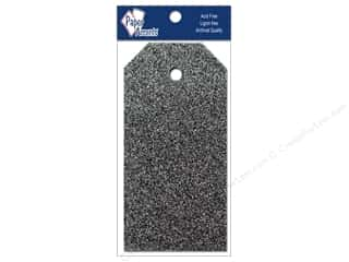 Tags: Craft Tags by Paper Accents 1 1/4 x 2 1/2 in. 10 pc. Glitz Midnight