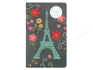 Sewing Construction Vacations: Molly & Rex Tall Journal Soft Cover Eiffel Doodies