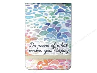 Note Cards Back to School: Molly & Rex Note Spiral Pad Do What Makes You Happy (2 pieces)
