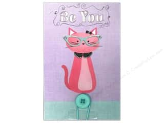 Art Institute Glitter $4 - $5: Molly & Rex Note Button Large Pad Be You Kitty