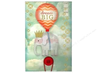 Molly & Rex Note Button Large Pad Dream Big Elphnt