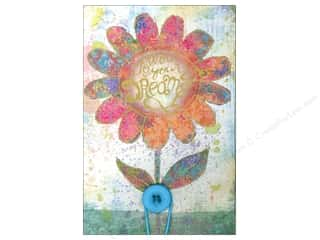 Pads Flowers: Molly & Rex Note Button Large Pad Flower Follow Your Dreams