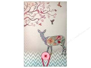 Molly & Rex Note Button Large Pad Floral Fawn