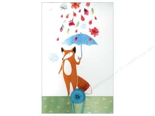 Molly & Rex Note Button Large Pad Umbrella Fox