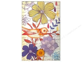 Flowers Back To School: Molly & Rex Note Button Large Pad Bird Sketch
