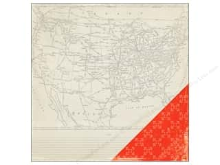 Crate Paper 12 x 12 in. Paper Open Road Scenic Route (25 piece)