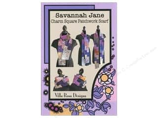 Brookshier Design Studio Charm Pack Patterns: Villa Rosa Designs Savannah Jane Charm Square Scarf Pattern
