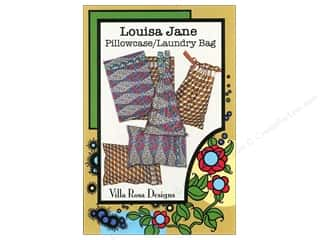 Sweet Jane Quilting Designs: Villa Rosa Designs Louisa Jane Pillowcase/Laundry Bag Pattern