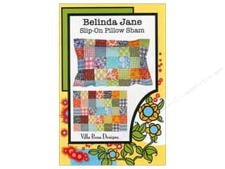 Brookshier Design Studio Charm Pack Patterns: Villa Rosa Designs Belinda Jane Slip-On Pillow Sham Pattern